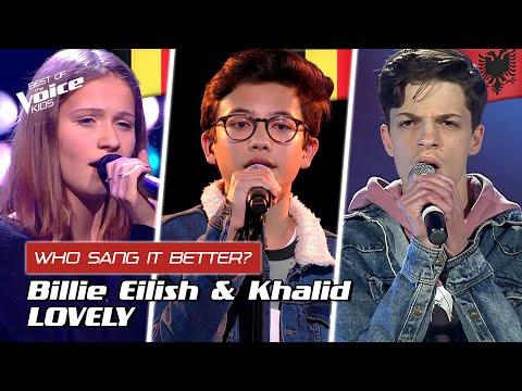 "Who sang Billie Eilish' ""Lovely"" better? | The Voice Kids"