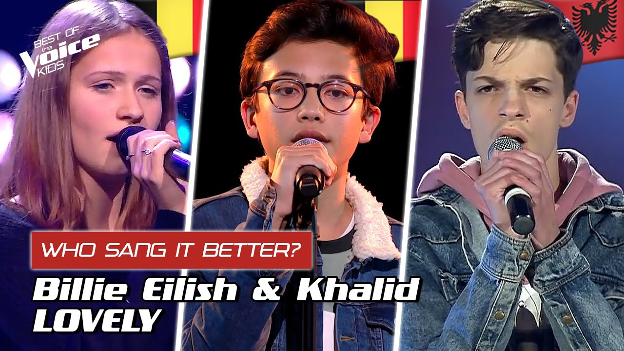"Download Who sang Billie Eilish' ""Lovely"" better? 