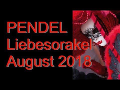 Pendel Liebesorakel: August 2018
