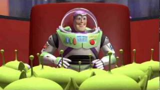 Pixar: Toy Story - movie clip - Little Green Men and the Claw! (Blu-Ray promo)