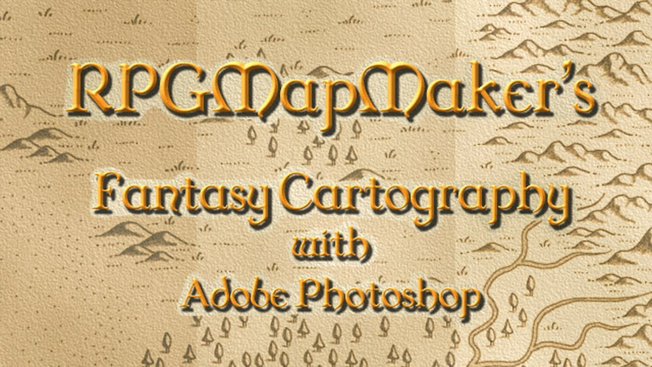 how to make a map look old in photoshop