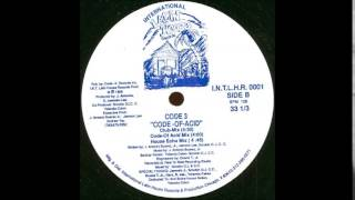 CODE 3 - CODE OF ACID (CODE OF ACID MIX)  1989