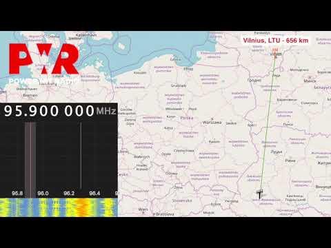 [Tropo] BBC WS, Power Hit, European Hit Radio - Vilnius, LTU - 656 km
