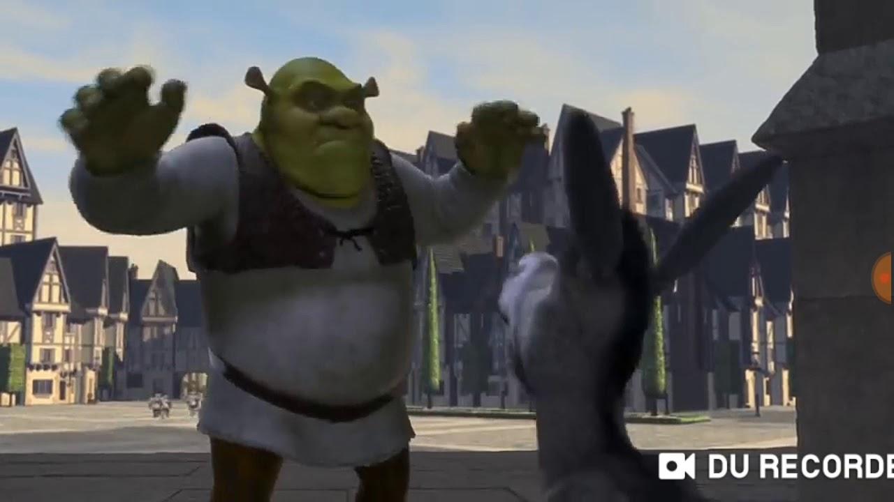 Shrek Donkey Try A Little Tenderness   YouTube