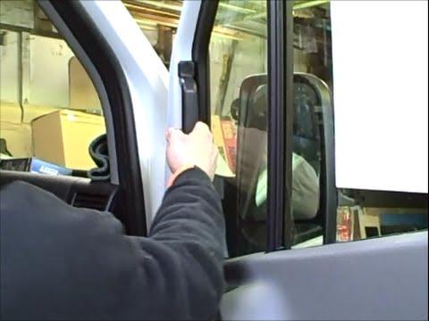 Sprinter Front Door Grab Handle Kit Youtube