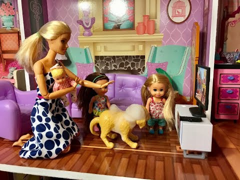 Thumbnail: Barbie PUPPY!! Haley and Ally get a Puppy!!