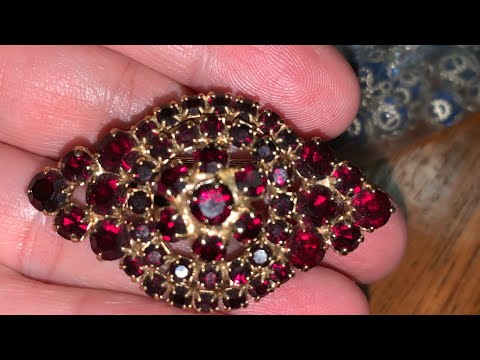 Vintage jewelry unbagging big haul ! #50