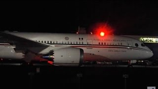 Mexican Air Force One Boeing 787-8 [XC-MEX] at Quebec City Airport (YQB)