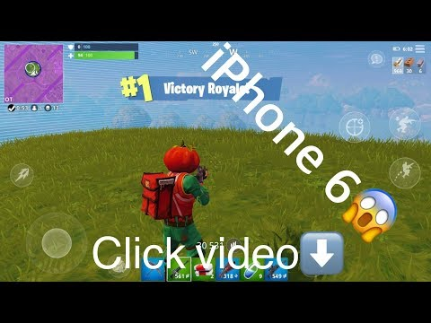 Can you play fortnite mobile on iphone 6