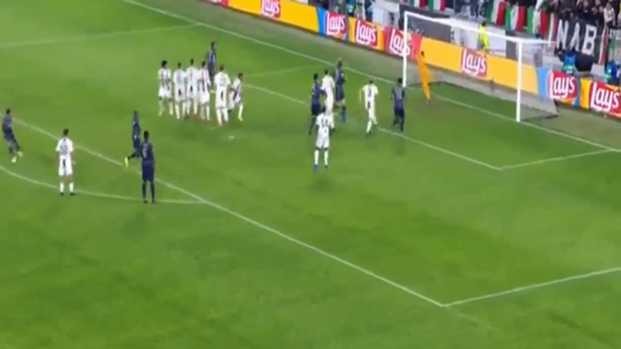 Juan Mata Free Kick Goal Vs Juventus [HD]