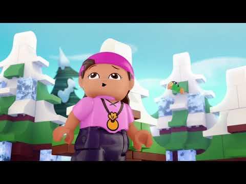 LEGO-Disney Джейк и ПИРАТСКИЕ СОКРОВИЩА - серия 6 - Пираты на льду | мультфильм Лего про пиратов