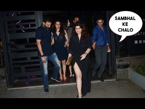 Twinkle Khanna Gets Complete Drunk At Akshay Kumar's Birthday Late Night