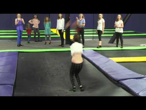 Double Trouble At Get Air Trampoline Park