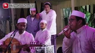 Gambus Terbaik, dua hari sebelum acara pernikahan putri Habib Zein Baharun, Best Gambus, Hajir Maraw