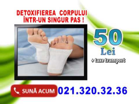 Plasturi de detoxifiere Kinoki from YouTube · Duration:  23 seconds