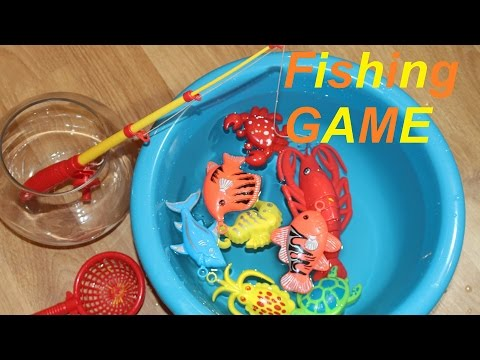 Fishing game toy let 39 s go fishin 39 fishing p che for Let s go fishing xl
