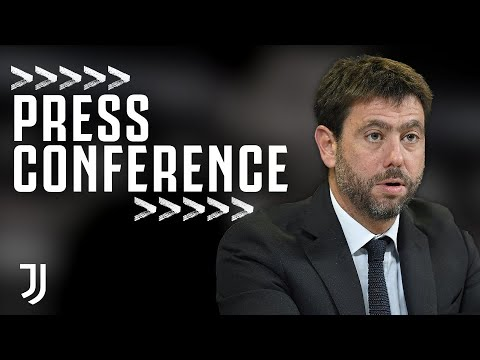 Andrea Agnelli and Luca Stefanini Press Conference | Juventu
