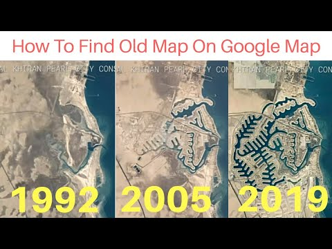 Now Find Your Old Google Map || Image 1999-2016 Google Earth