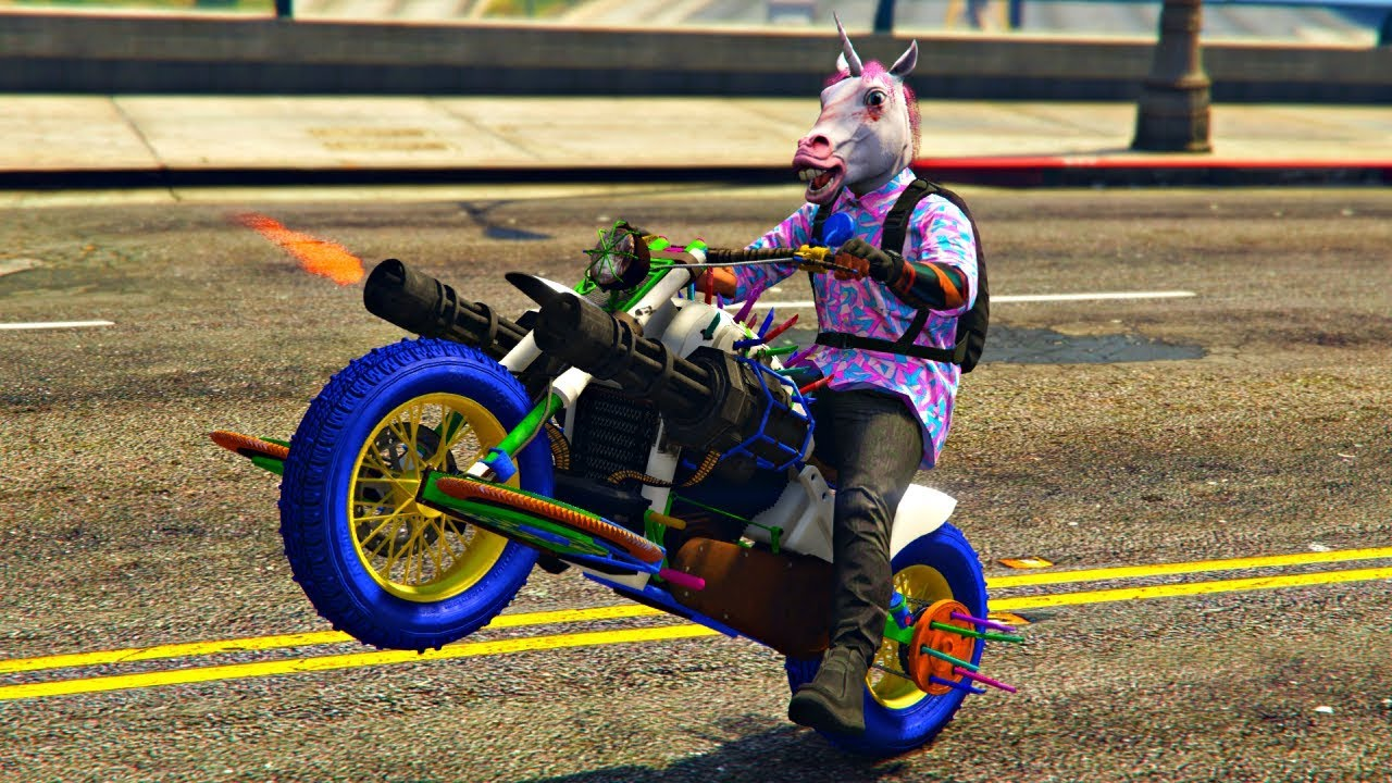 BUYING & CUSTOMIZING THE *NEW* NIGHTMARE DEATHBIKE! (GTA 5 ONLINE)