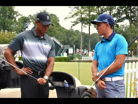 Tiger Woods, Rickie Fowler - Hole-in-One Charity Event Quicken Loans National