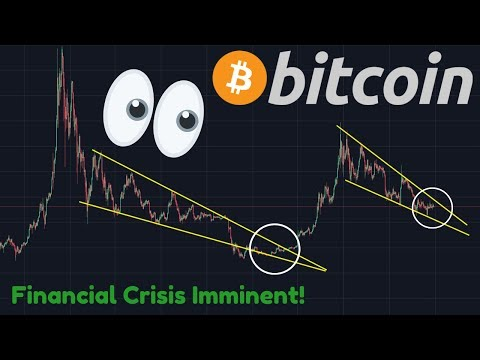 HUGE BITCOIN MOVE COMING!!!!! | DEEP FINANCIAL CRISIS IMMINENT!