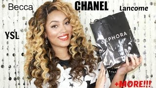 {Girl Talk} Collective Luxury Makeup Haul | Becca, Chanel, Dolce & Gabbana, YSL +MORE