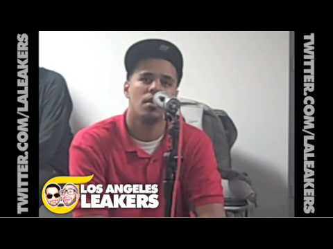 J. Cole speaks on Drake w Los Angeles Leakers