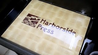 Harborside Press logo end grain cutting board(, 2015-11-26T10:27:36.000Z)