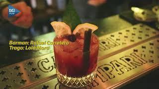 #SemanadelCocktail: el barman Rafael Carretero presenta su trago