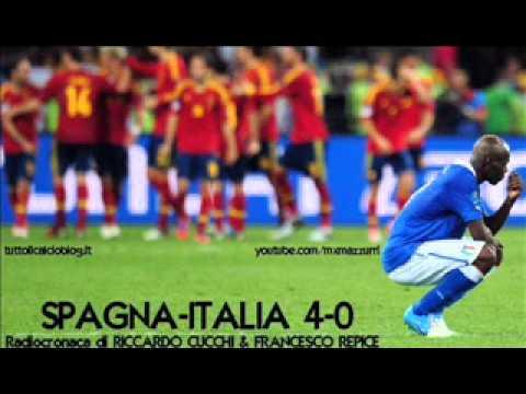 SPAGNA-ITALIA 4-0 – Radiocronaca di Riccardo Cucchi & Francesco Repice – EURO 2012 su Radiouno RAI