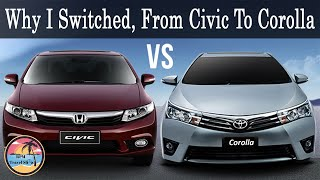 My Review on Honda Civic Vs Toyota Corolla | Corolla or Civic Which is Better