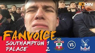 McArthur and Milivojevic turn the game around for Palace! | Southampton 1-2 Palace | 90min Fanvoice
