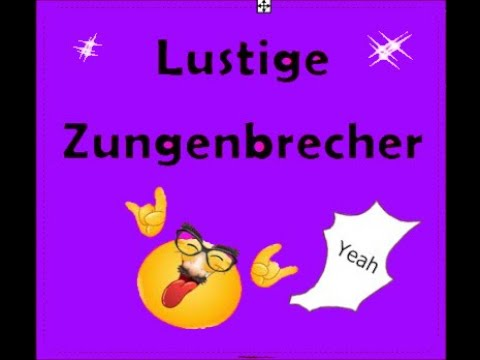 zungenbrecher marathon 19 lustige spr che youtube. Black Bedroom Furniture Sets. Home Design Ideas