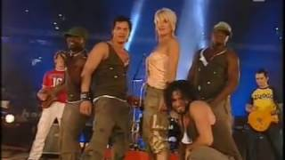 Sarah Connor - I Just Started Being Bad (Live @ Stock Car Crash Challenge 2005)