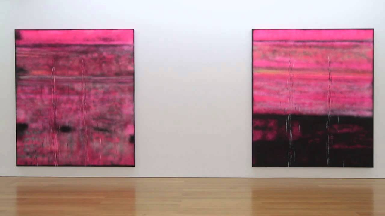Sterling ruby vivids at gagosian hong kong youtube for Sterling ruby paintings
