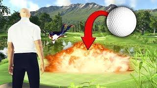 The Exploding Golf Ball Assassination! [Hitman]