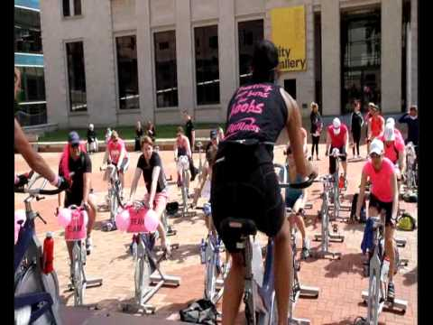 City Fitness rideathon for Breast Cancer Research Trust - 10 November 2012