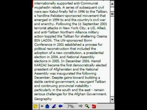 cia world factbook plucker
