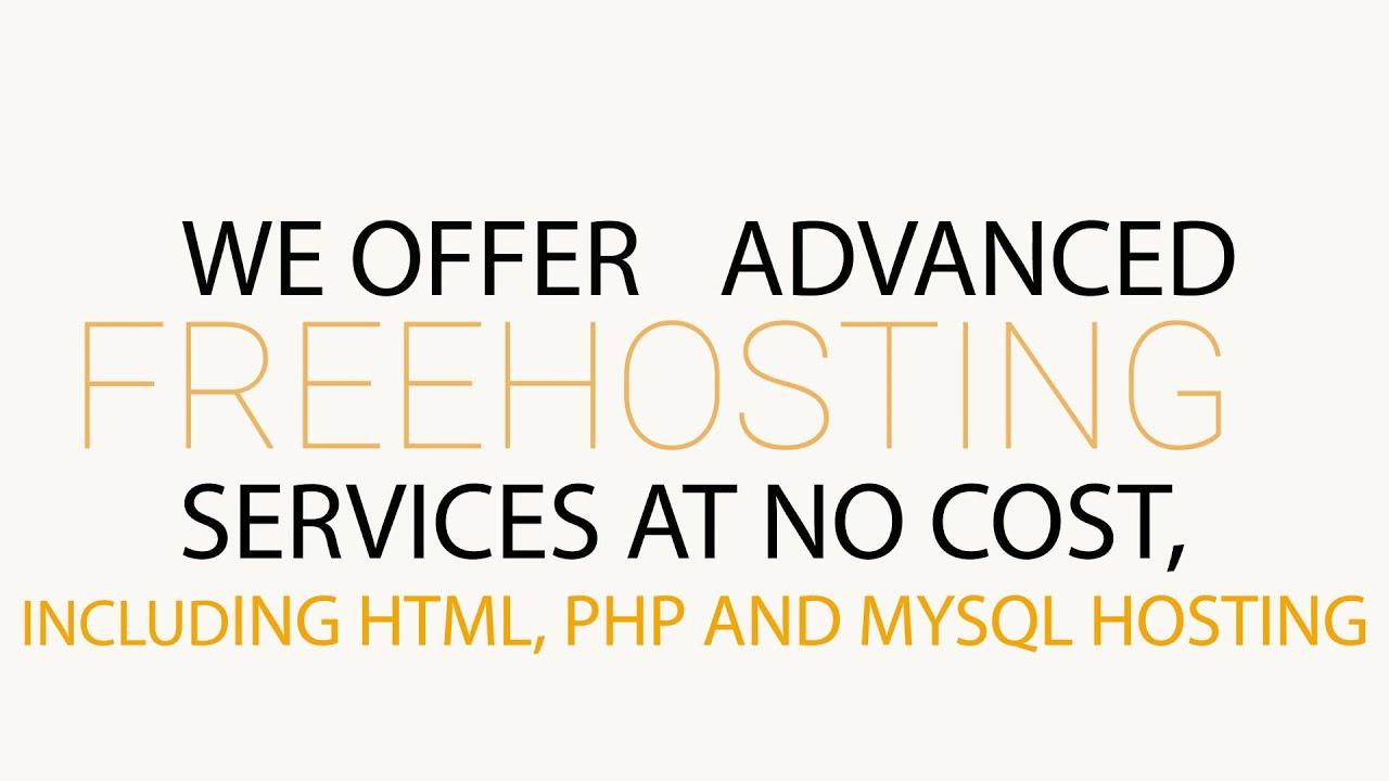 Free web hosting no banner - Free Web Hosting 500mb No Ads Cpanel