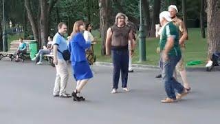Я готов целовать песок...Народные танцы,сад Шевченко,Харьков!!!