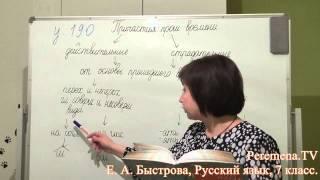 Peremena TV Русский язык, Быстрова, № 190
