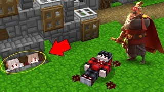 ซ่อนแอบเนียน!! หนีจาก โฆษณา ไรส์ออฟคิงดอม สุดโหด?? (Minecraft ซ่อนแอบ)