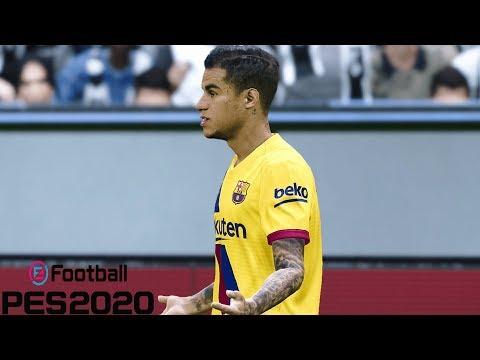 PES 2020 GAMEPLAY | Juventus Vs Barcelona | Pro Evolution Soccer 2020 (PES 20 Demo Gameplay)