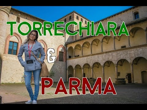 Parma Italy and Torrechiara Castle