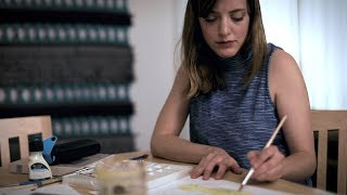 Science meets art at Stanford: Artist Meredith Fields thumbnail