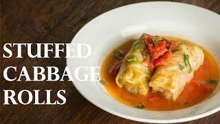 How To Make Stuffed Cabbage Rolls - Japanese Version (recipe) ロールキャベツの作り方 (レシピ)