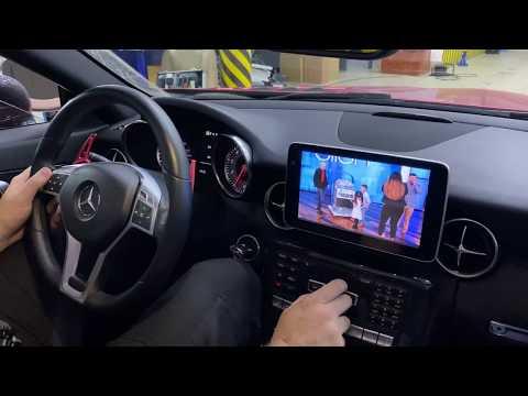 Mercedes SLK(R172) - большой монитор+доп мультимедиа