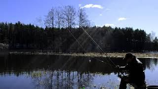 Рыбалка на незнакомом озере Рыбалка на фидер на озере