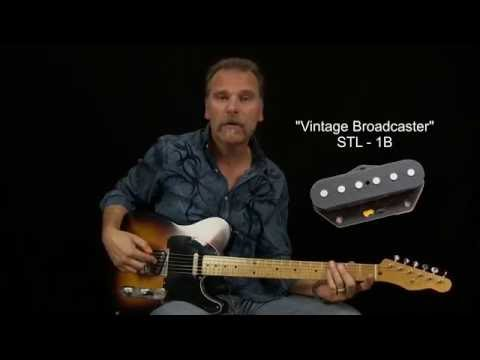 Seymour Duncan Broadcaster & Vintage 54 Pickup Review