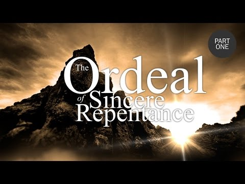 The Ordeal of Sincere Repentance Part 1 - Shaykh Riyadh ul Haq